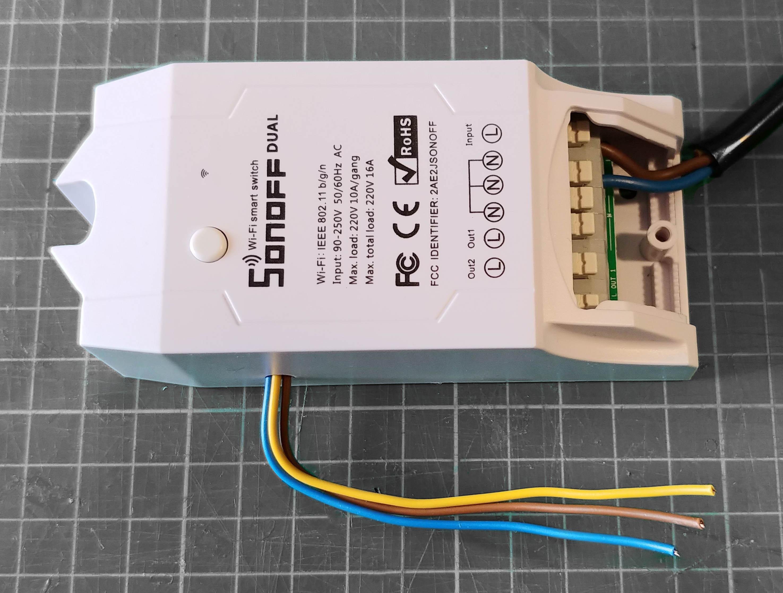 Schema Elettrico Motore Tapparelle : Controllo apertura tapparelle in percentuale con firmware tasmota