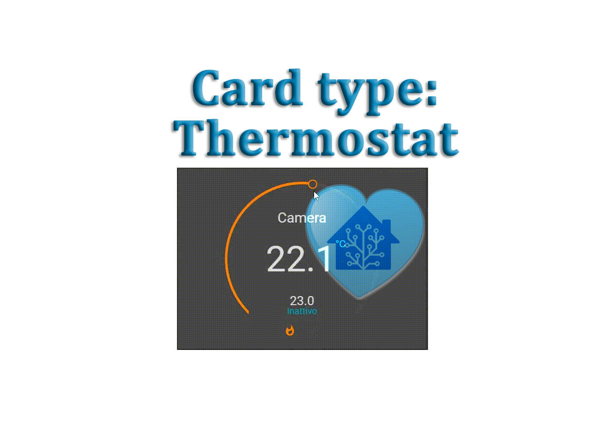 Lovelace Card: THERMOSTAT – HassioHelp